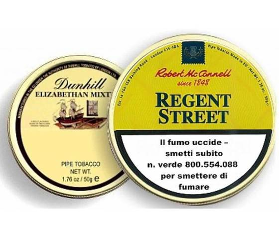 "TABACCO DA PIPA ROBERT McCONNELL ""REGENT STREET"""