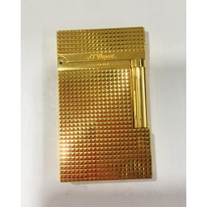 ACCENDINO S.T DUPONT LINEA 2 YELLOW GOLD ORO 1FK8V28