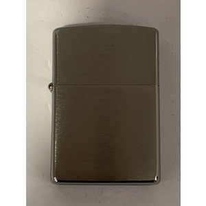 ACCENDINO ZIPPO REG. BRUSH FIN CHROME MADE IN USA