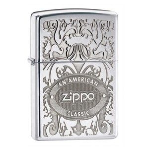 ACCENDINO ZIPPO AMERICAN CLAS DISTINCTIVE TOP MADE IN USA