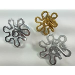 Anello in alluminio anodizzato.Modello Altair Medium