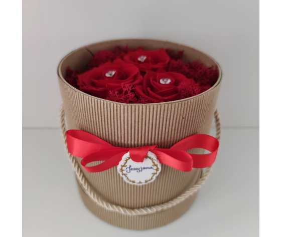 Diamante rose rosse di jessyjama