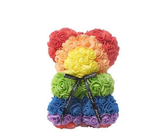 Orso di rose arcobaleno jessyjama