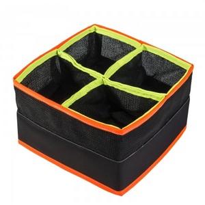 Cestino per esche e pasture Modello Quadrato quattro scomparti