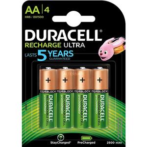 Pile Duracell Ricaricabili Stilo AA