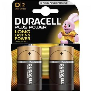 Pile Duracell Plus Power Torcia D