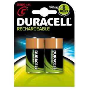 Pile Duracell Ricaricabili 1/2torcia C