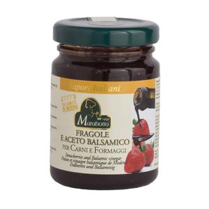 MARABOTTO Salsa per carni e formaggi FRAGOLE E ACETO BALSAMICO