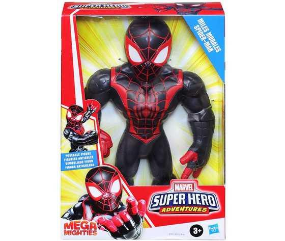 Personaggio mega mighties 25cm miles morales spider man hasbro