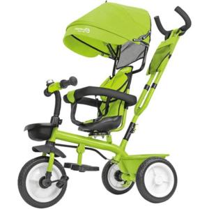 Triciclo in metallo 5 in 1 con maniglione Verde