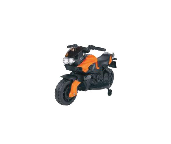 Moto elettrica arancione