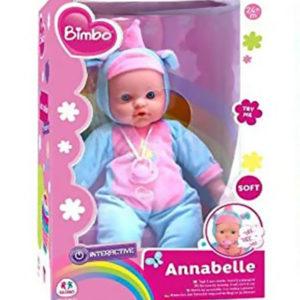 Bambolotto con Accessori Annabelle