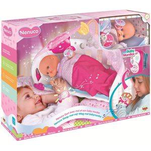 Bambola Nenuco Dormi con Me con Baby Monitor
