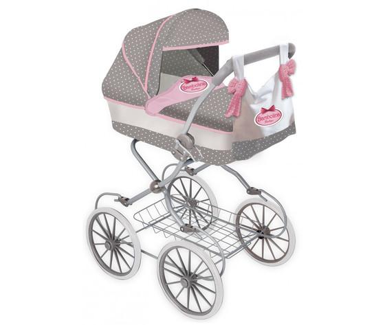 Bambolina doll pram classic with handbag bd1606