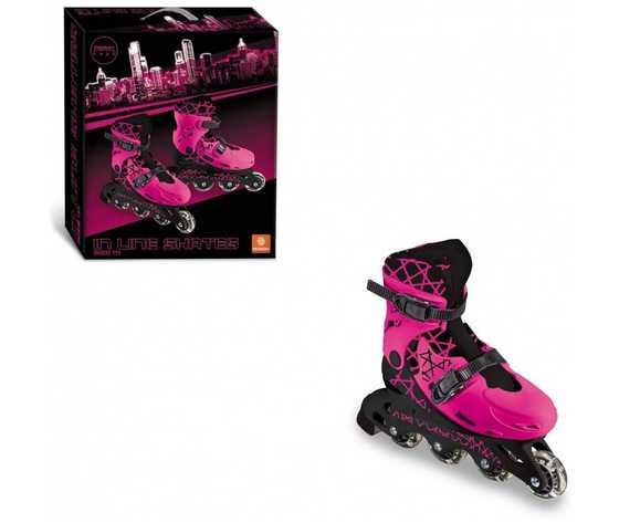Inline skate mondogirl girl in line skates questi pattini in linea presentano un design sportivo ed accattivante colore fucsia n