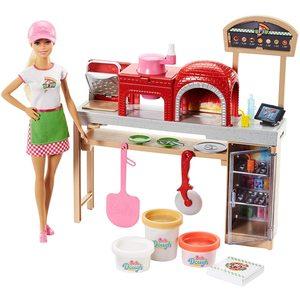 Barbie La Pizzeria Con Bambola