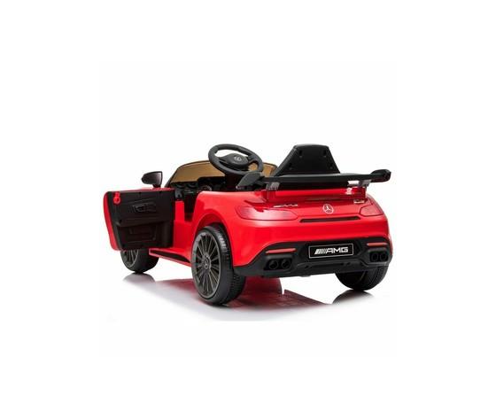 Auto elettrica per bambini mercedes benz amg gtr 12v rossa