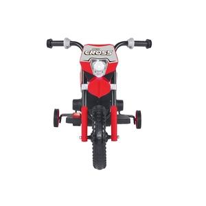 Motocross 6v Rossa moto elettrica