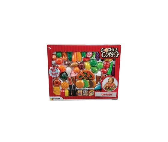 Giocheria giochi di casa set cibo 80 pz