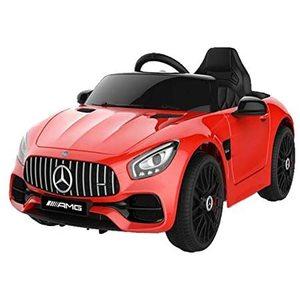 Mercedes Benz GTR AMG 12V Rossa Auto Elettrica Bambino