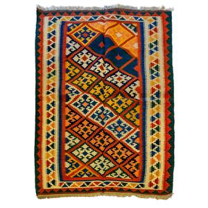 Tappeto Kilim lana su lana