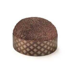 Panettone a lievitazione naturale (36 ore) arricchito con gocce di cioccolato fondente 70%, ricoperto da una cascata di pepite di cioccolato fondente 70%.  Tutti i prodotti di Petrosino Dessert sono interamente artigianali e vengono confezionati freschi.