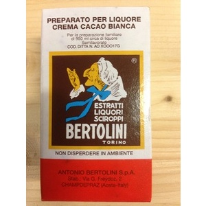 Estratto liquore crema cacao bianca 20ml Bertolini