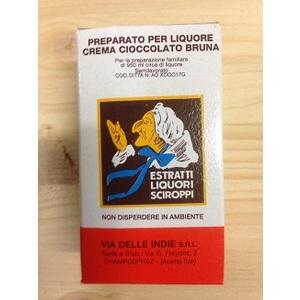Estratto liquore crema cioccolata bruna 20ml Bertolini