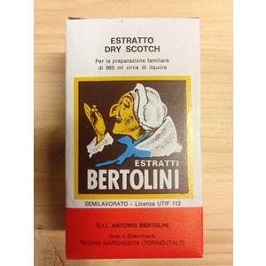 Estratto liquore dry scotch 20ml Bertolini