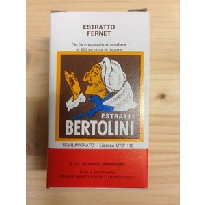 Estratto liquore fernet 20ml Bertolini