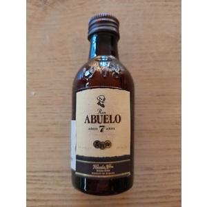 Mignon Rum Abuelo 7 anni 5cl
