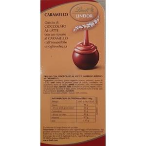 Lindt cioccolatino Boules Lindor Caramello al pz.