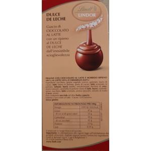 Lindt cioccolatino Boules Lindor Dulce de Leche al pz.