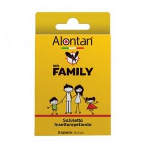 ALONTAN NEO FAMILY SALVIETTA INSETTO-ACARO REPELLENTE 12 SALVIETTE