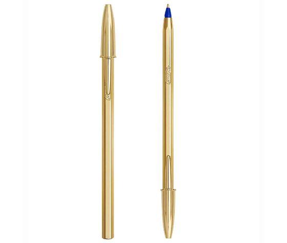 Penna bic cristal shine oro b