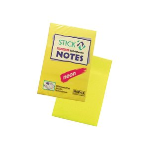 STICK'N NOTES 76X51 MM 100 FG HOPAX