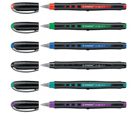 Penna roller stabilo bl ck  96b