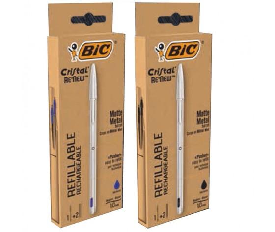 Penna bic cristal re'new