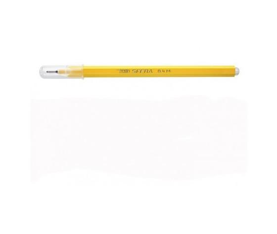 Penna tratto sfera giallo