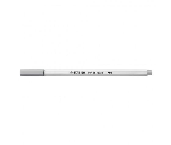 Pen 68 brush grigio medio