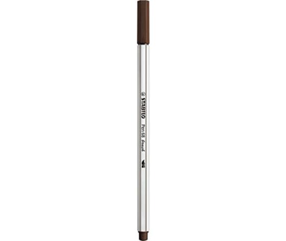 Pen 68 brush marrone