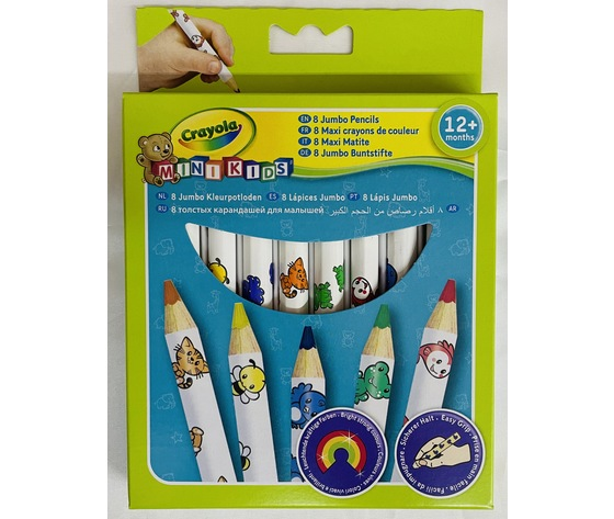 Maxi matite crayola mini kids