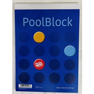 BLOCK NOTES A5 PAPER ONE 60 FOGLI - 60 GR. POOLOVER
