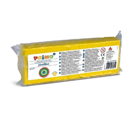 Plastilina primo giallo 550 gr.