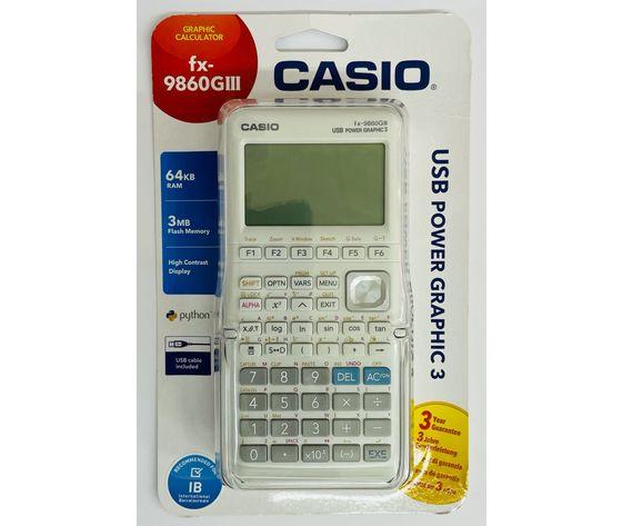 Calcolatrice casio fx 9860 giii