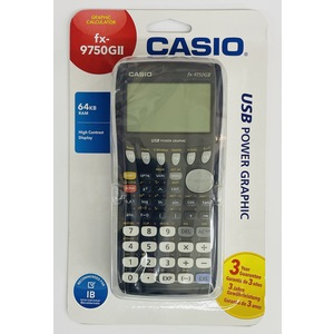 CALCOLATRICE SCIENTIFICA CASIO FX 9750 GII