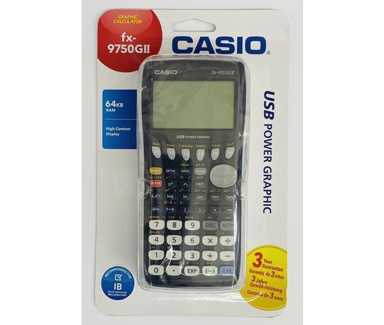 Calcolatrice casio fx 9750 gii
