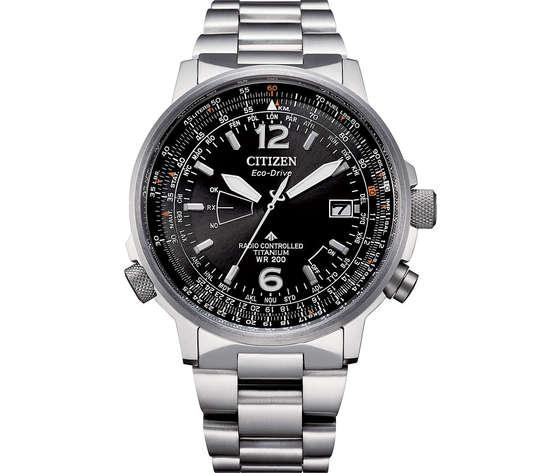Orologio multifunzione uomo citizen pilot cb0230 81e 421043