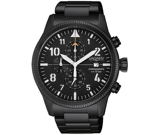 Orologio cronografo uomo vagary by citizen flyboy va1 145 51 358191
