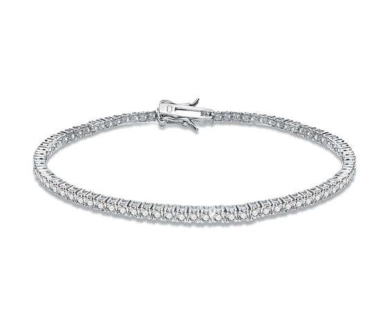 Bracciale tennis di gioiapura da donna in argento e zirconi ins026br001 18 389681